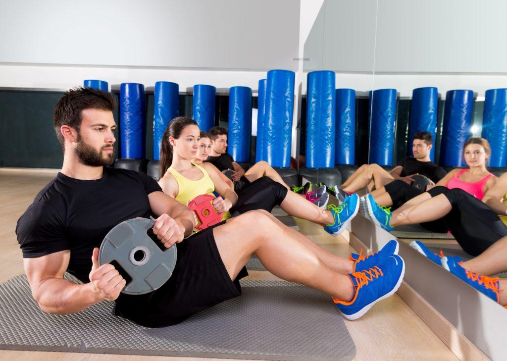 Rotation für starke Rumpfmuskeln