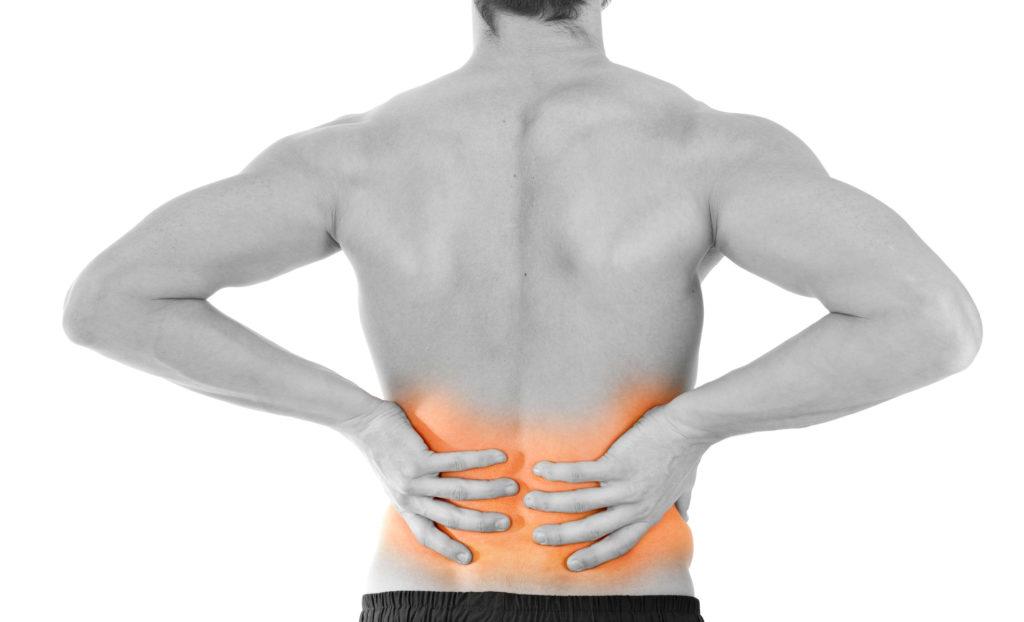 Muskeln schützen die Problemzone Nummer 1 am besten