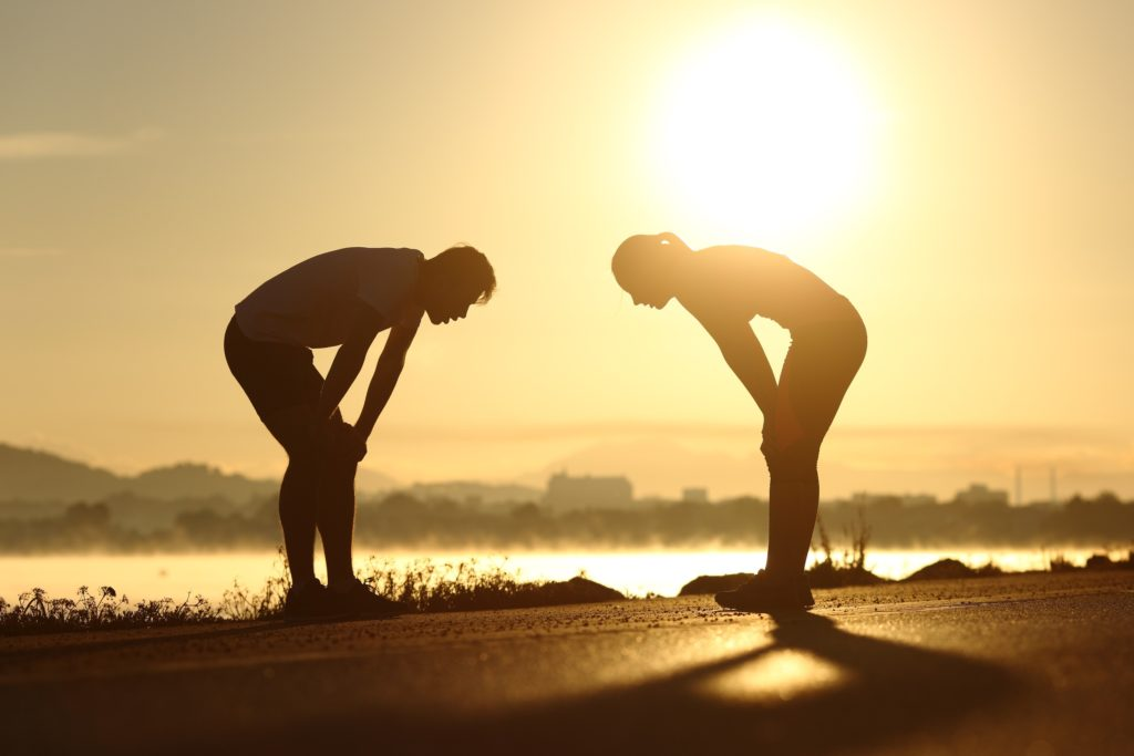 Wer regelmäßig zu schnell läuft, schadet seiner Gesundheit