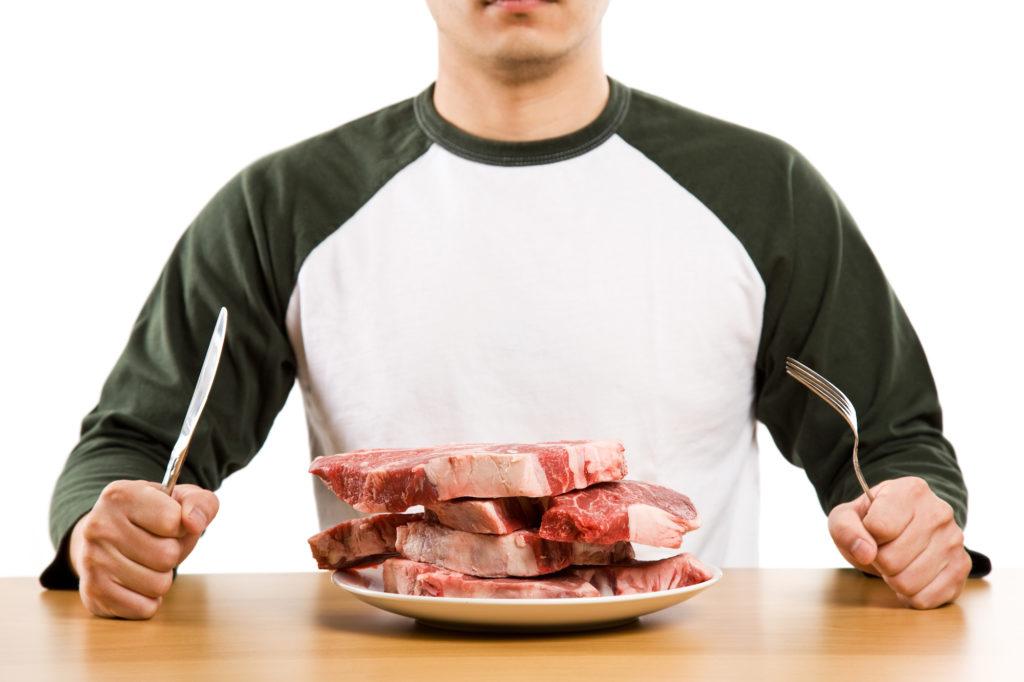 Zu viel rotes Fleisch tut dem Körper nicht gut