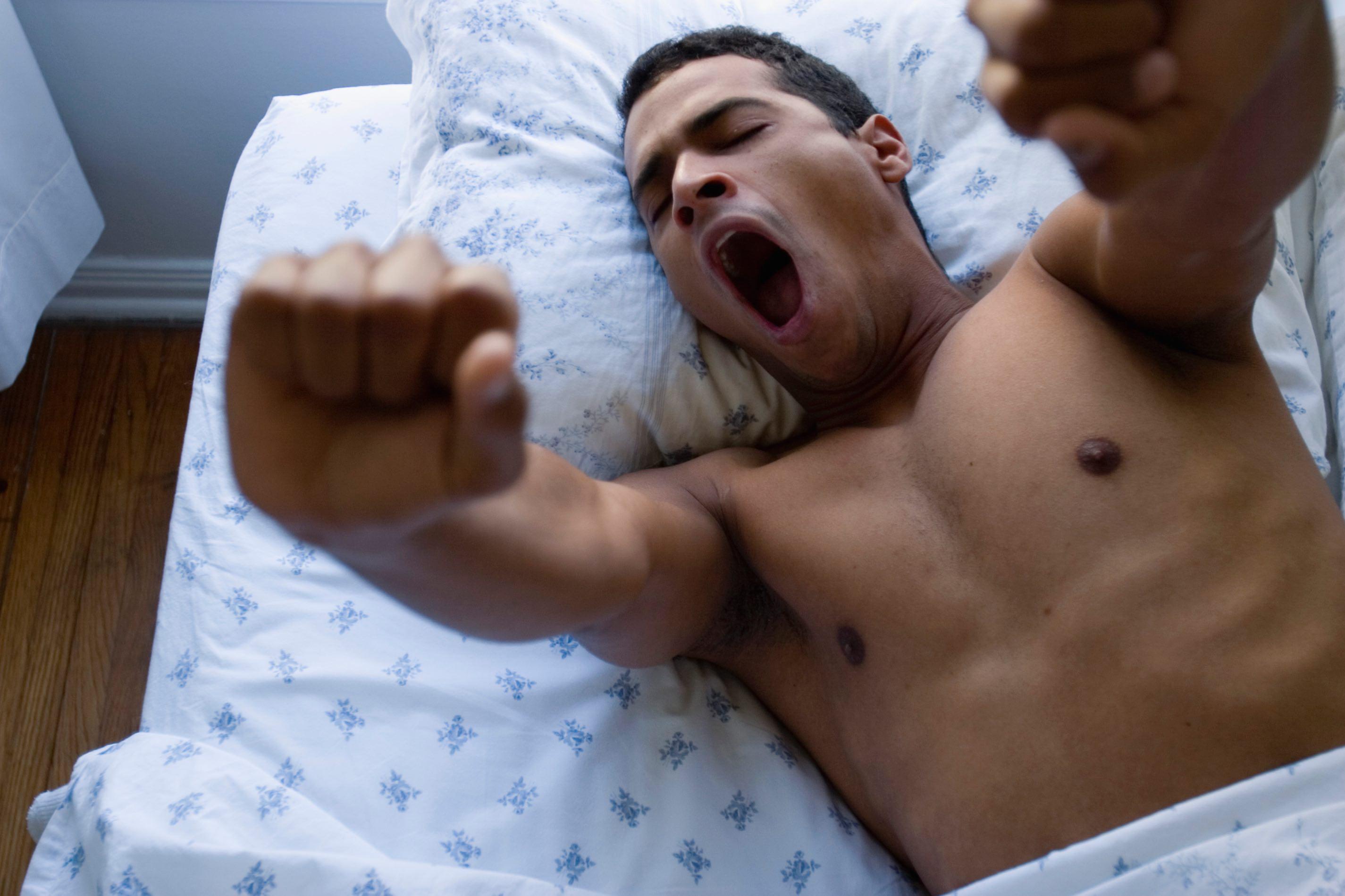 Schlafstörungen sind schlecht für die Fitness