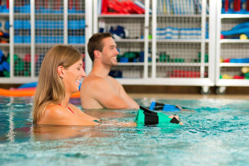 Aqua-Fitness ist ein tolles Trainingsprogramm