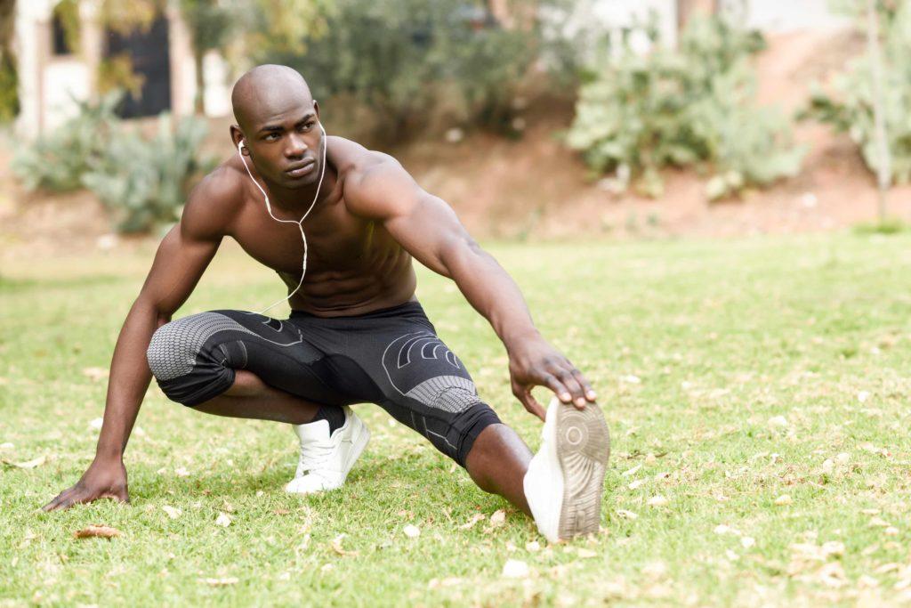 Dehnen hilft bei Muskelkrämpfen