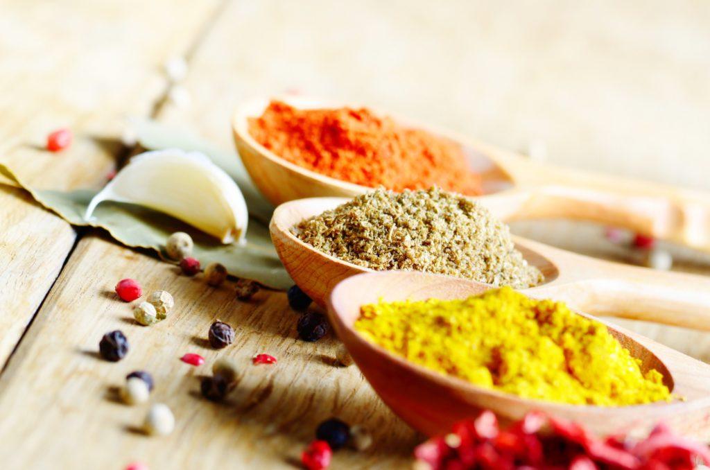 Gewürze enthalten viele gesunde Inhaltsstoffe