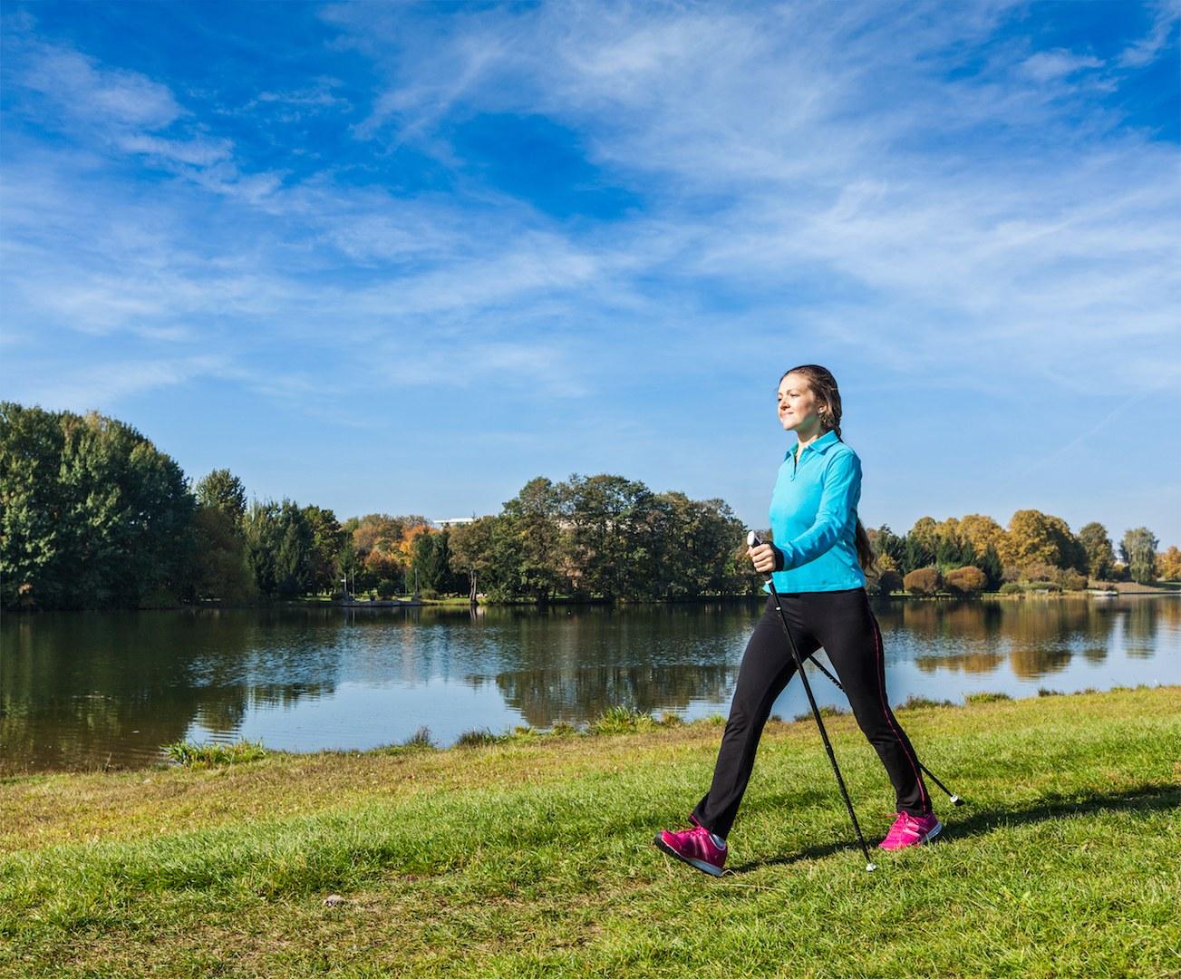Walking hilft effektiv gegen Rückenschmerzen