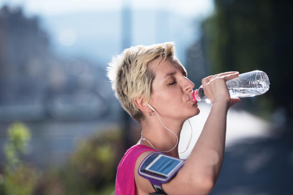 Richtig trinken beim Sport
