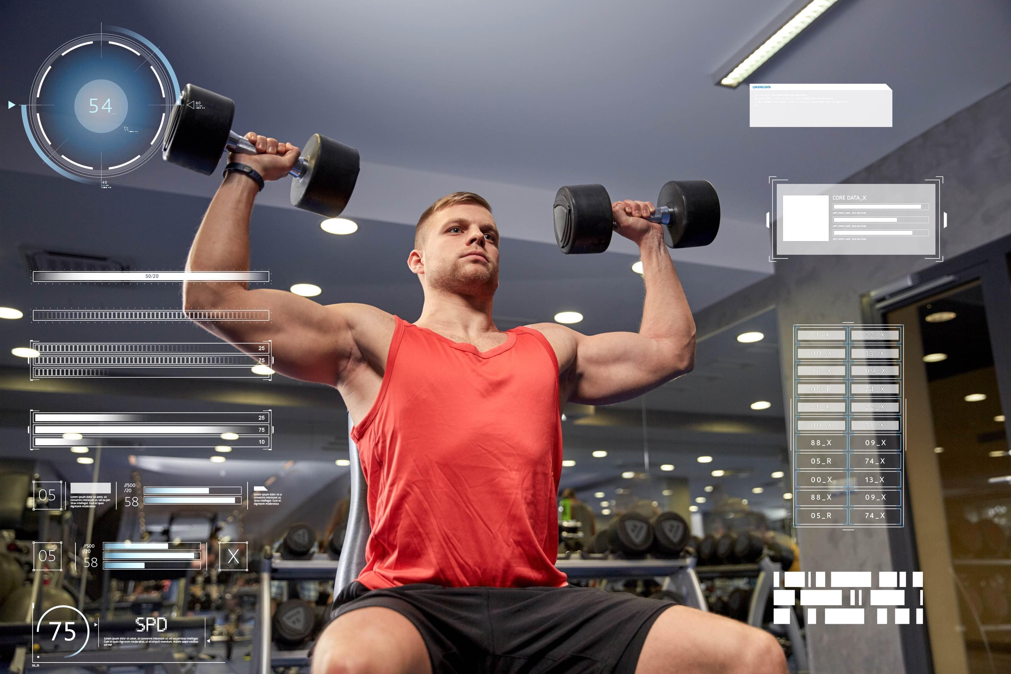 Absolutkraft ist für viele Sportler wichtiger als die Muskelmasse