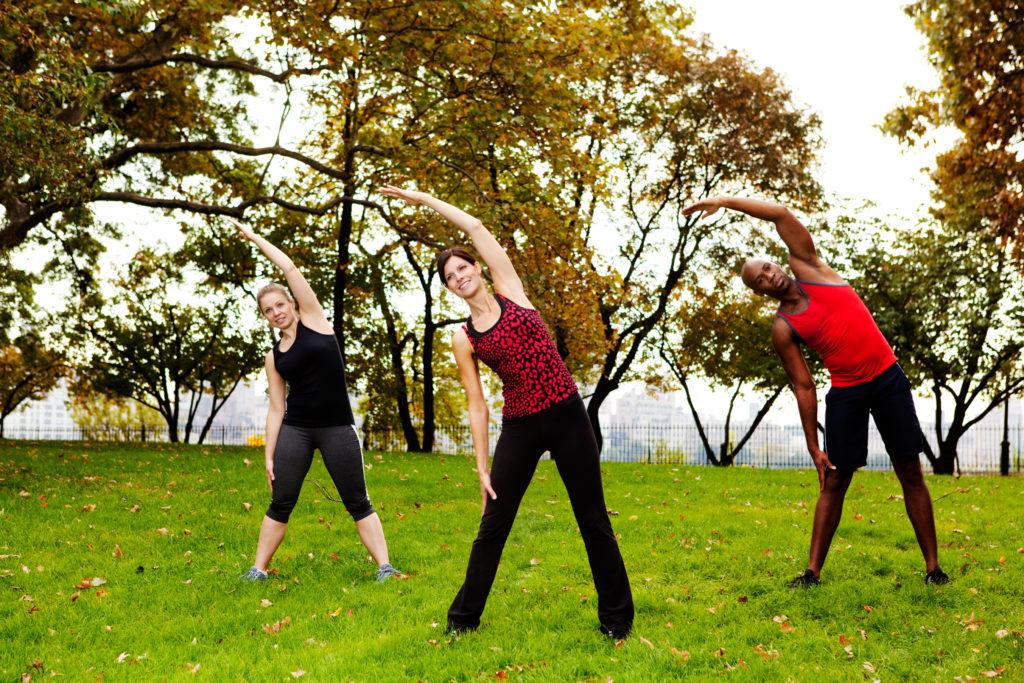 Aufwärmen, Cool-down, Stretching, Dehnen