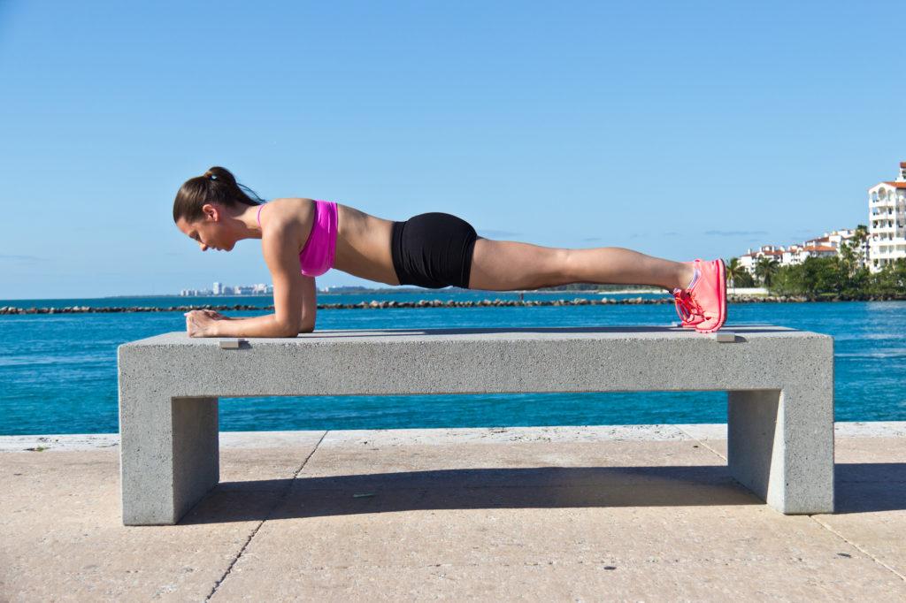 Planks, Bauchmuskeln, Waschbrettbauch
