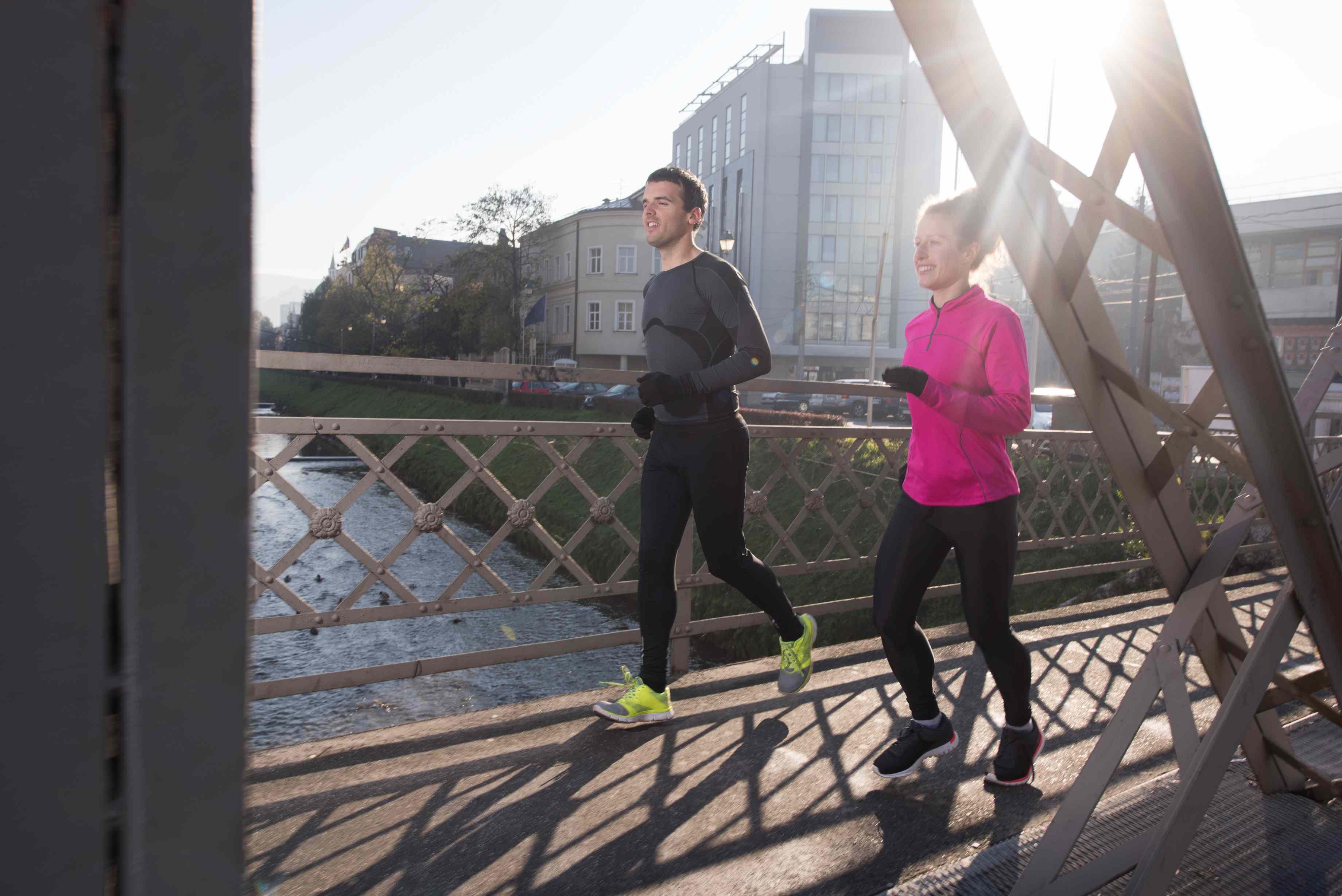 Trotz Luftverschmutzung tut Sport gut