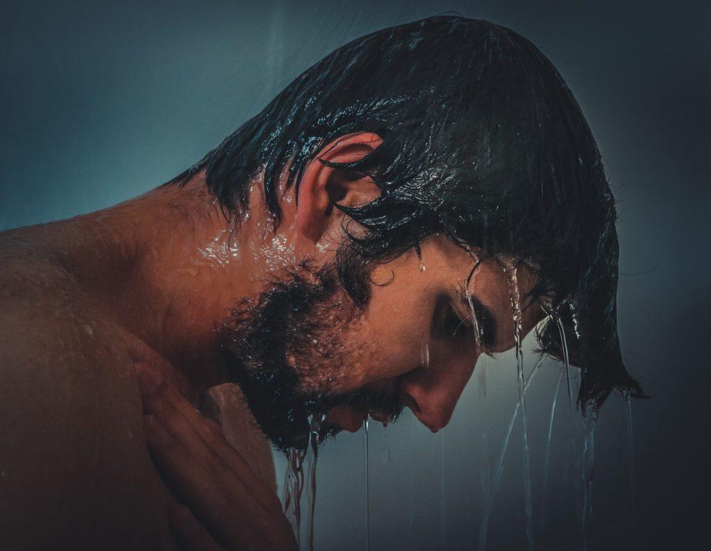Die wohlverdiente Dusche nach dem Training
