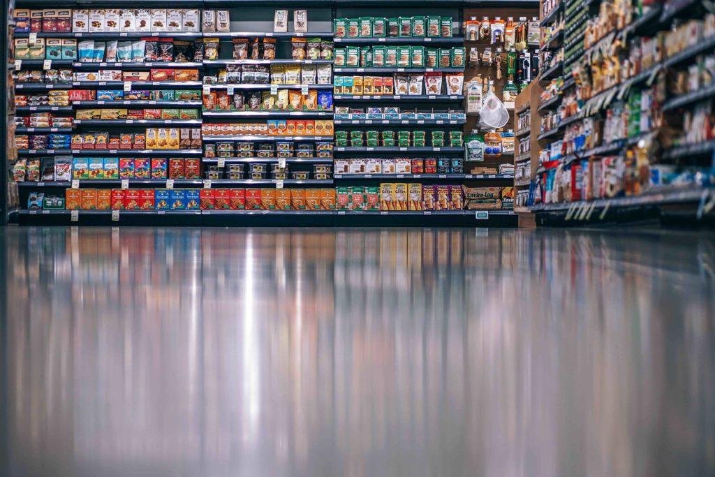 Dickmacher im Supermarkt