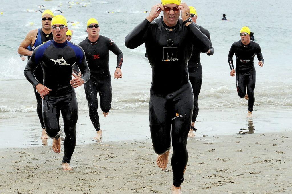 An der Studie nahmen acht ältere Triathleten teil