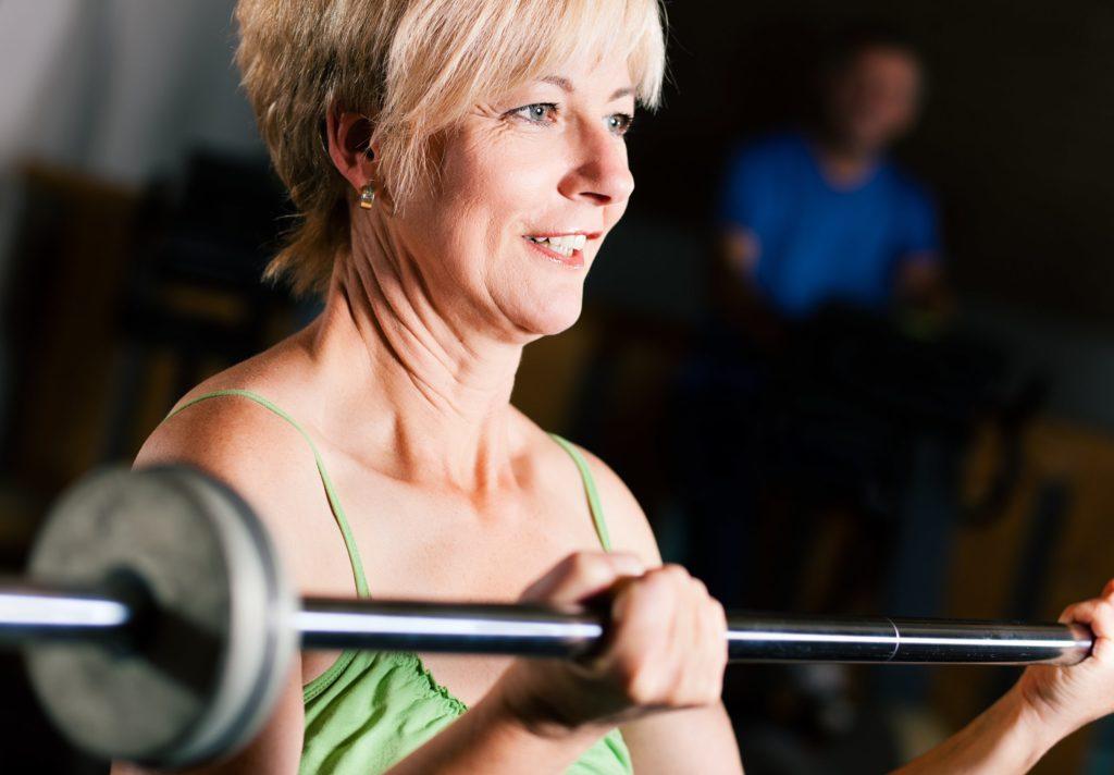 Auch beim Seniorensport tut tägliches Training gut