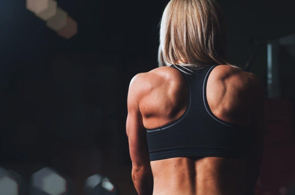Starke Schultermuskeln sind wichtig
