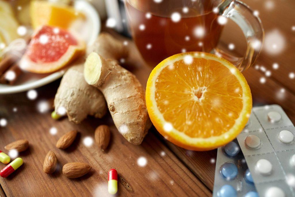 Vitamine halten das Immunsystem stark