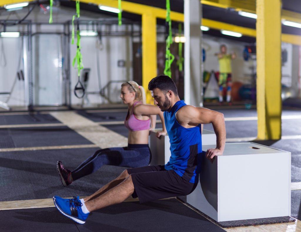 Auch für Trainierte ist das 7-Minuten-Workout anstrengend