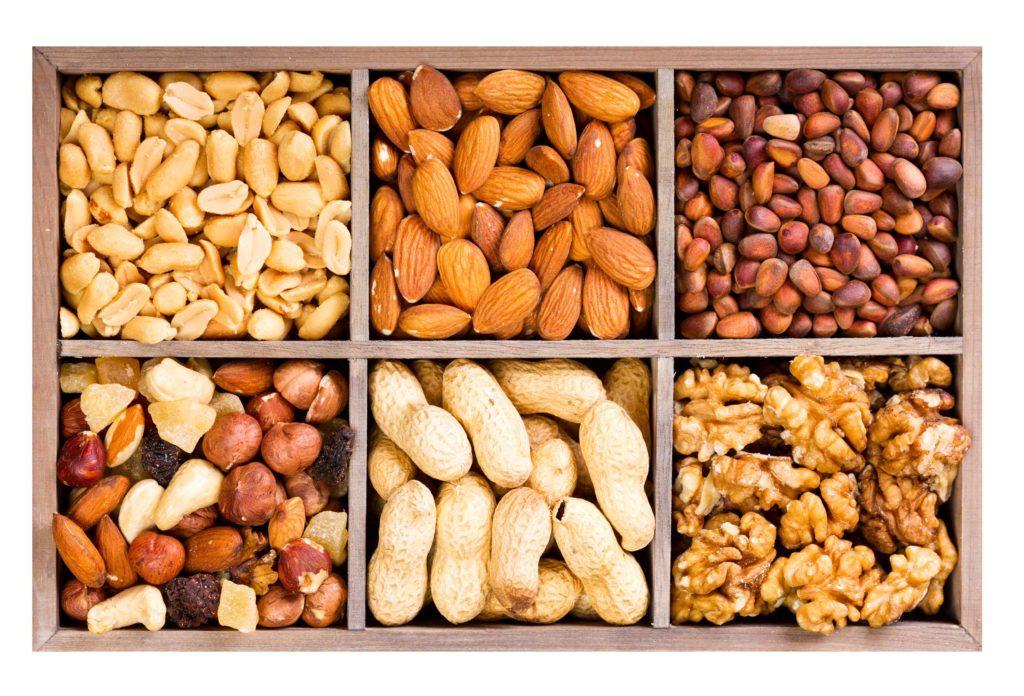 Nüssen sind wertvolle Proteinlieferanten