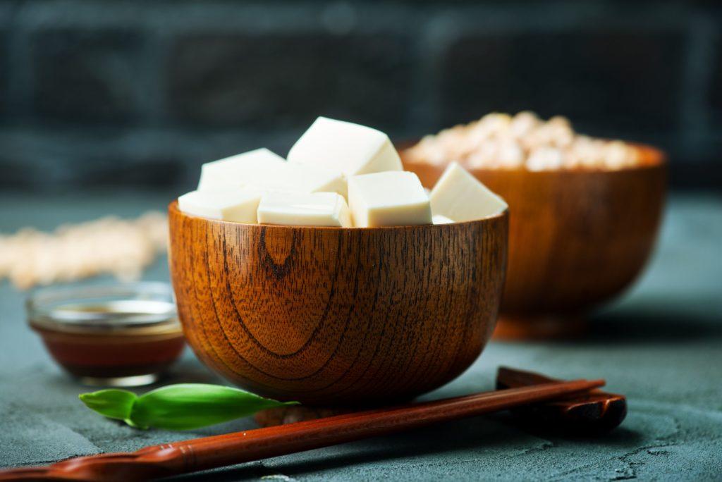 Tofu, Seitan, Tempeh und Quorn sind tolle Eiweißquellen