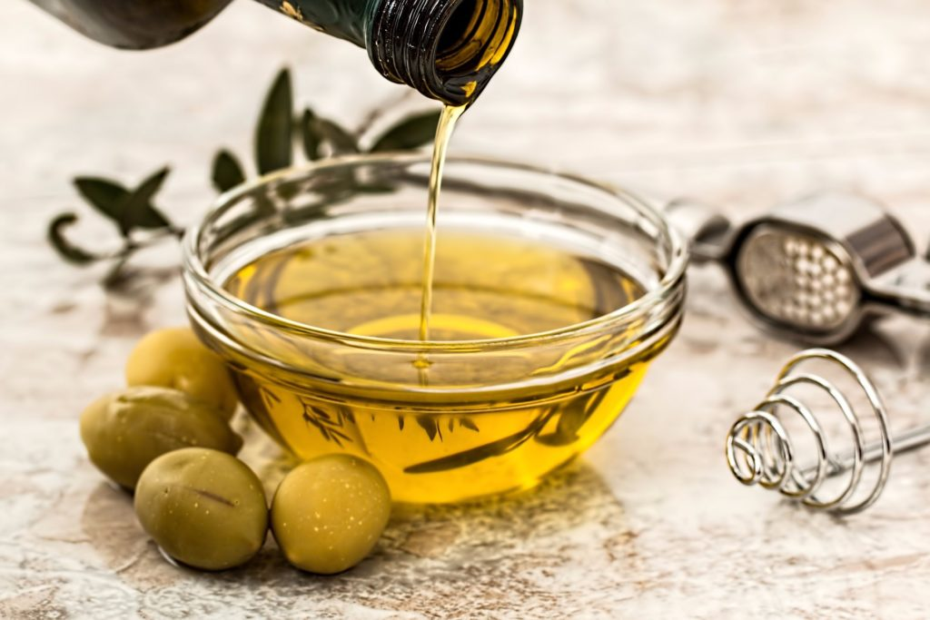 Gesunde Fettsäuren in Olivenöl