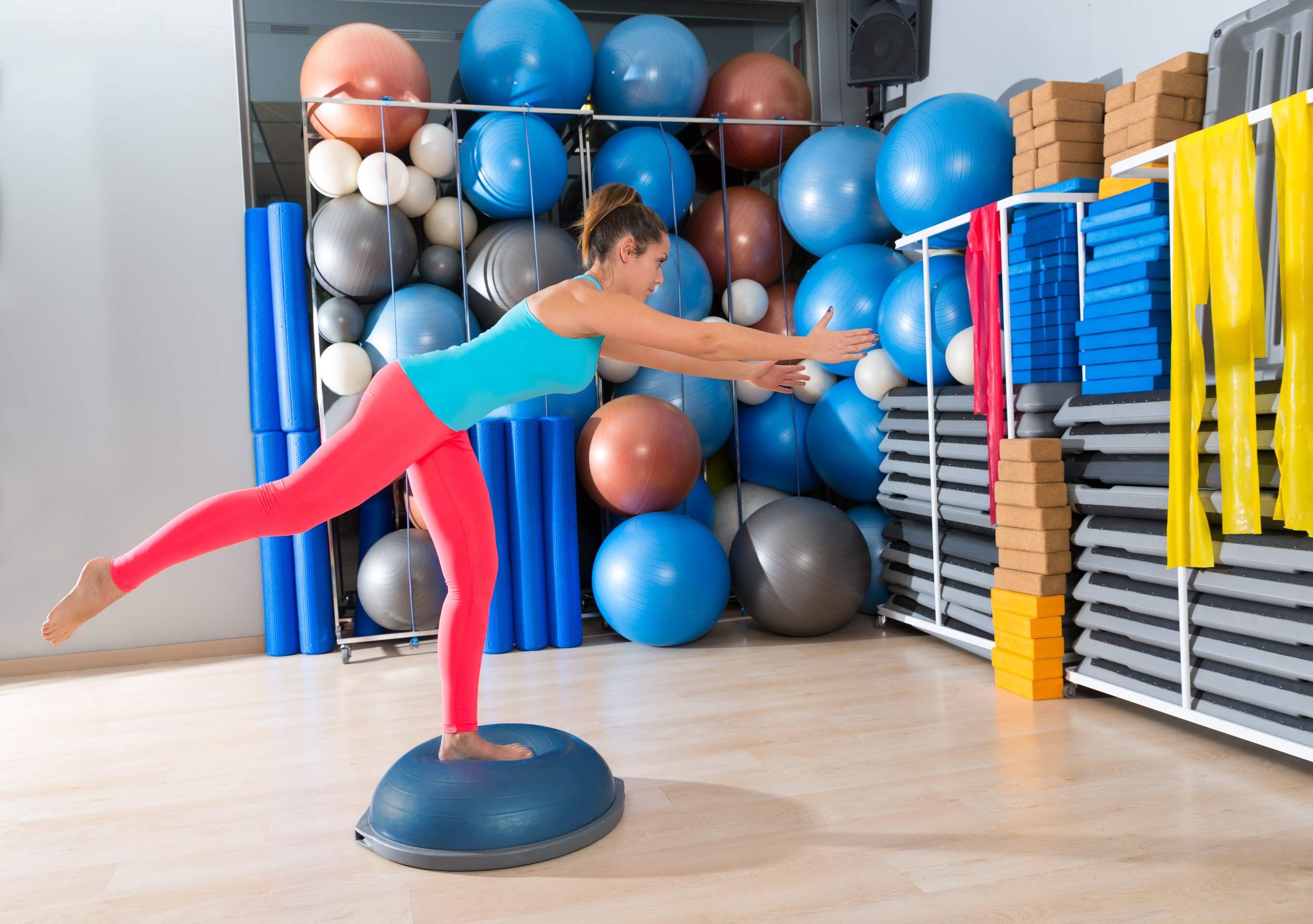 Gleichgewichtsübungen ins Training integrieren