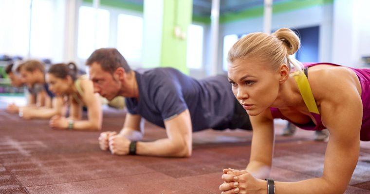 Plank-Variationen für einen starken Core