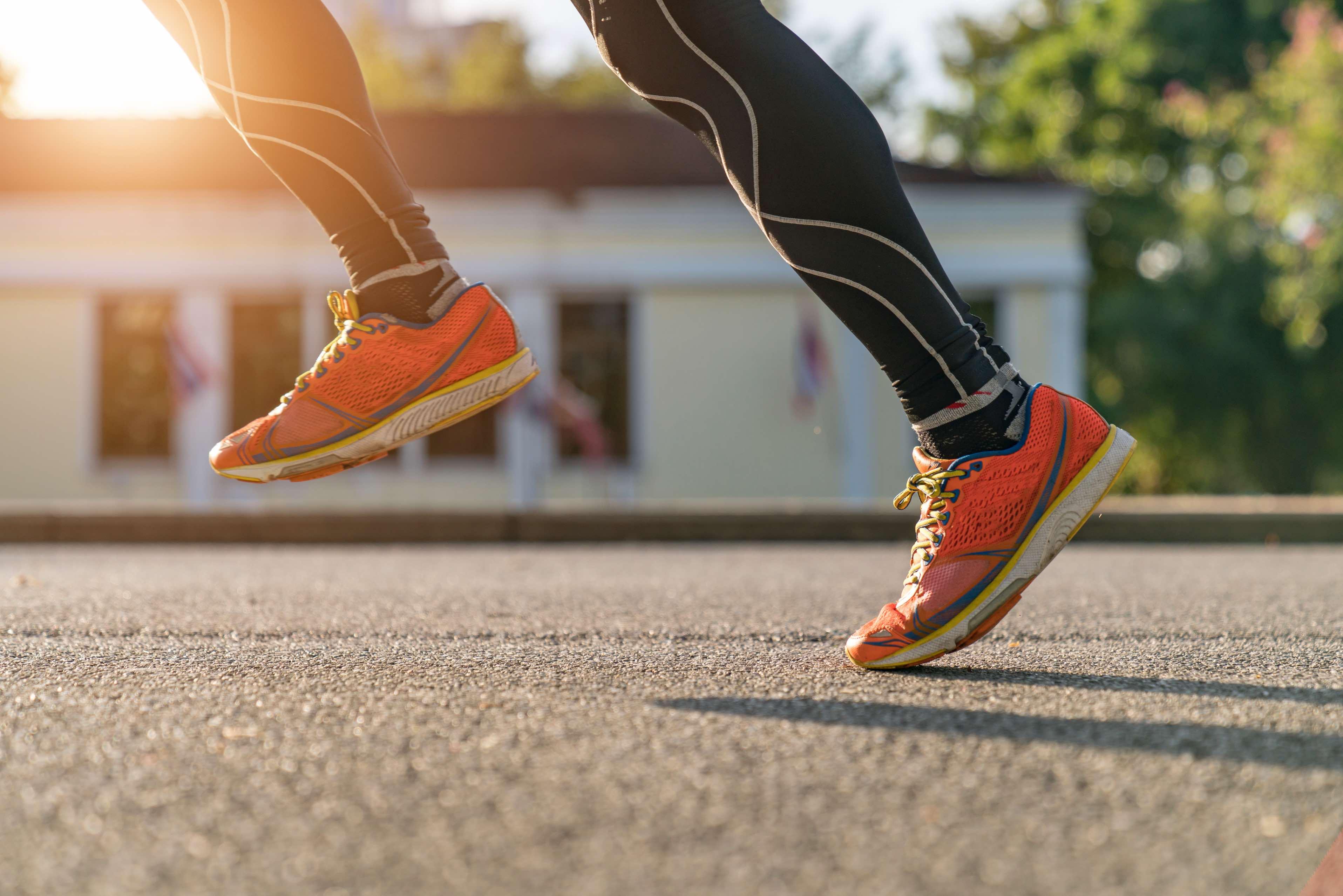 Schienbeinkantensyndrom bei Läufern richtig behandeln
