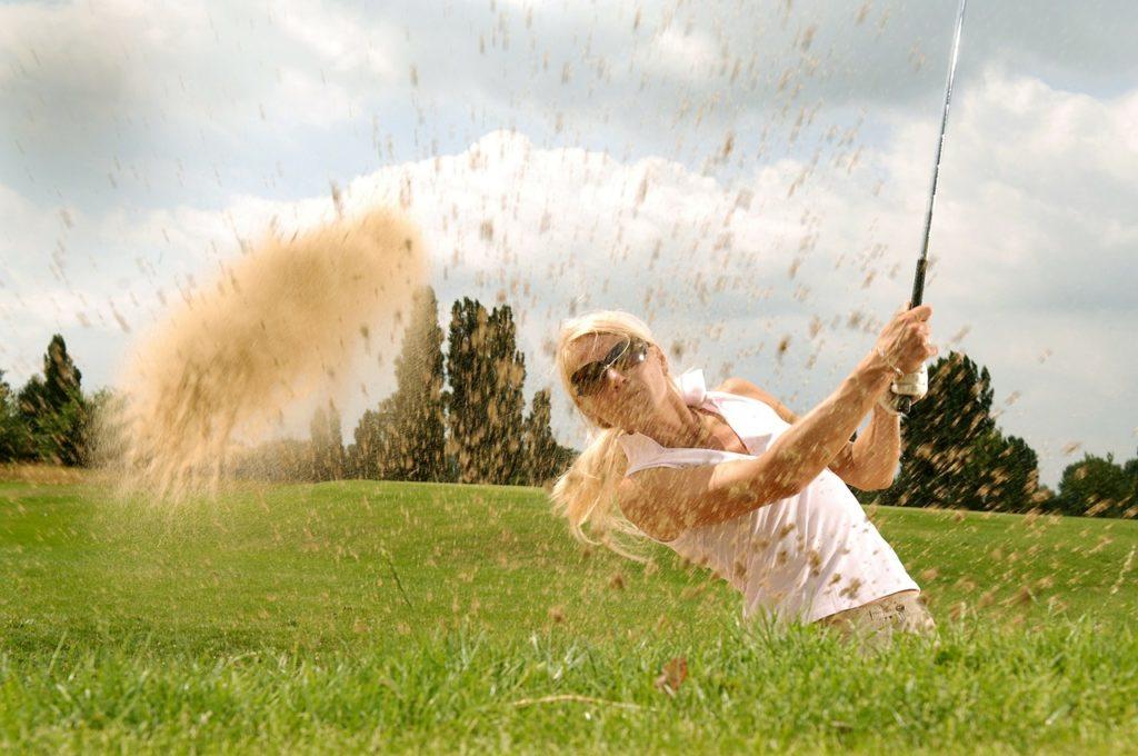 Schnellkraft spielt im Golfsport eine wichtige Rolle