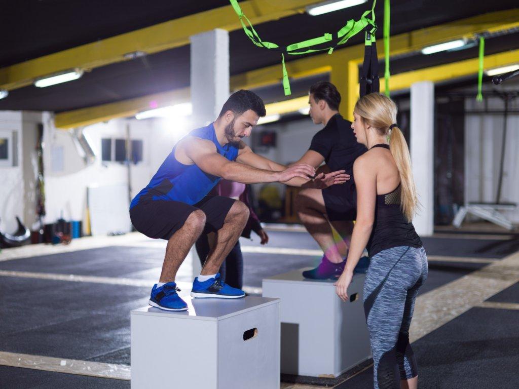Steife Muskeln nach einem Sprungkrafttraining sind völlig normal
