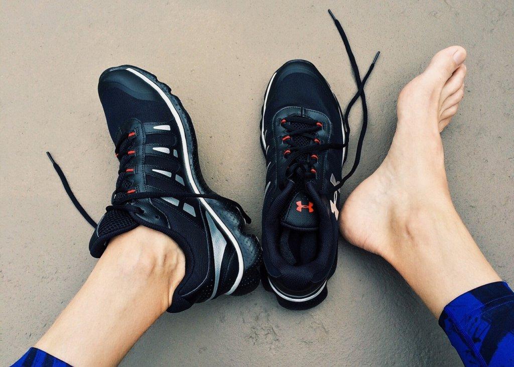 Wenn Du Dich mit dem Laufschuh wohlfühlst, ist das ein wichtiger Hinweis