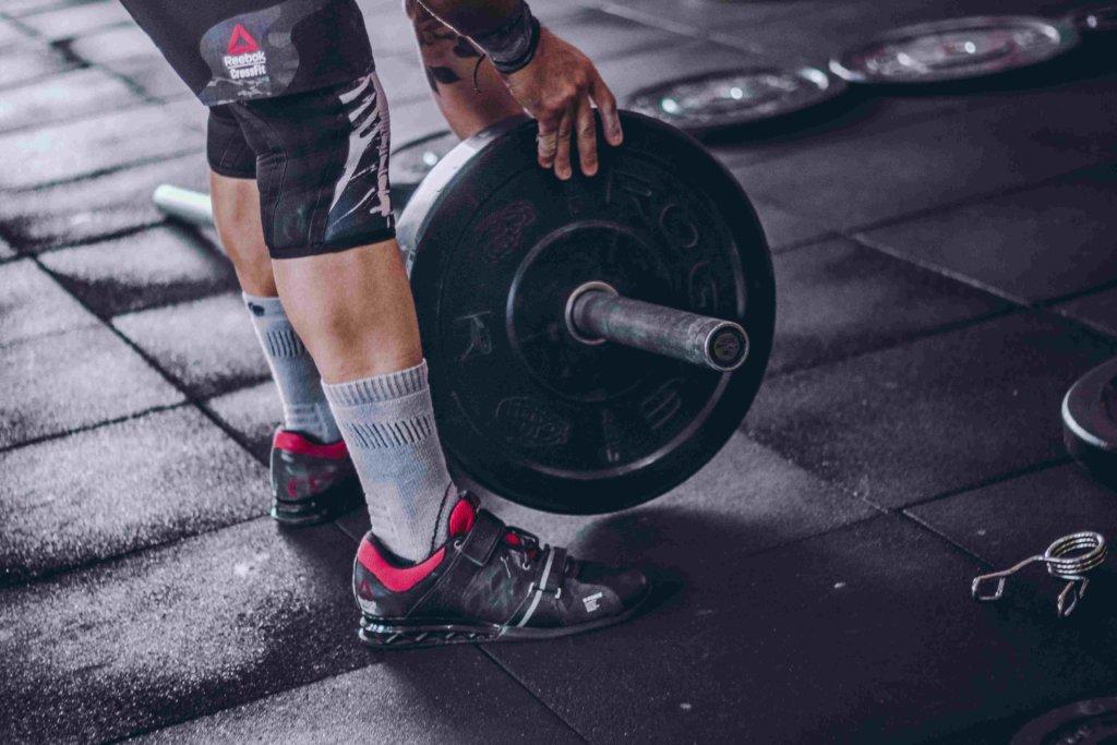 Gewichtheber-Schuhe müssen nicht unbedingt sein