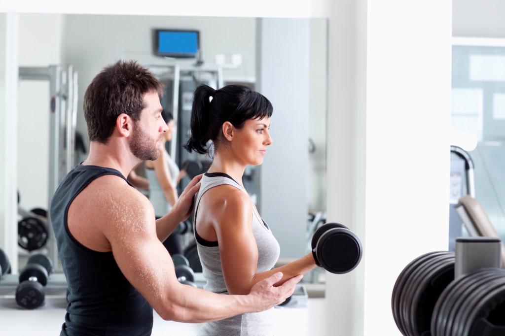In der Pausen zwischen den Trainingszeiten wachsen die Muskeln