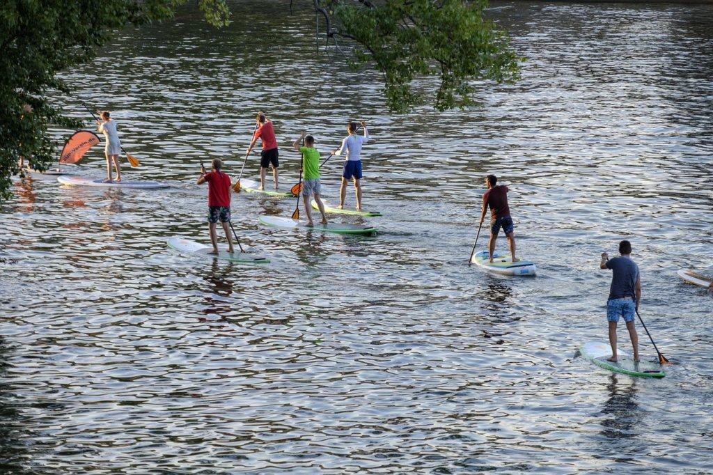 Stand-up-paddling ist schon jetzt der beliebteste Wassersport