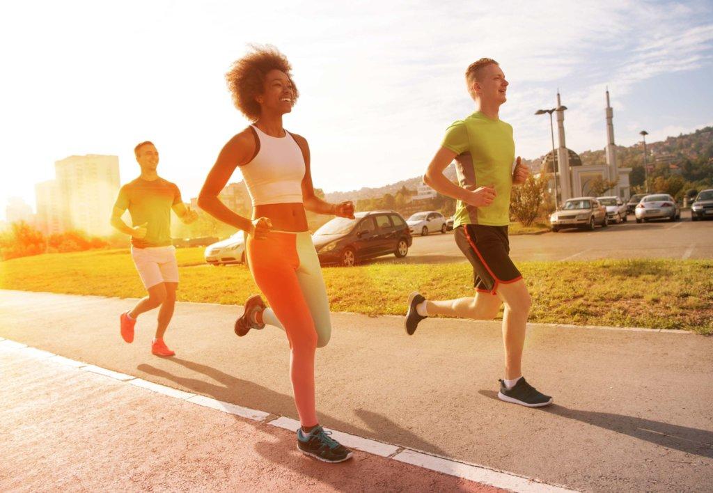 Atemtechnik beim Laufen