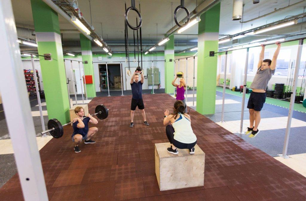 Muskelaufbautraining mit Zirkeltraining