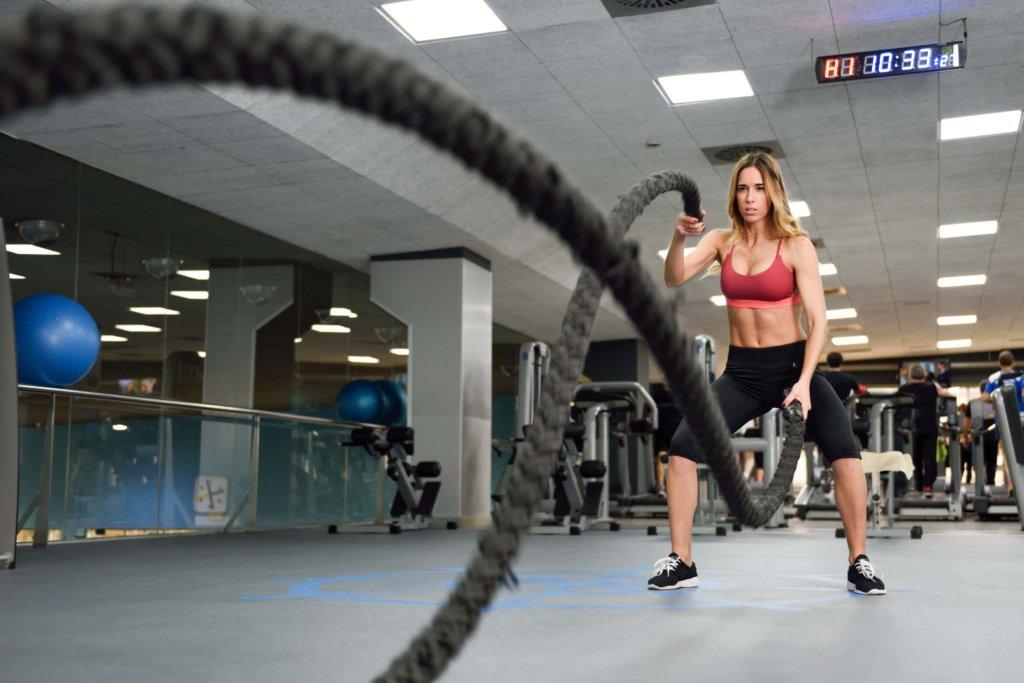 Battle Rope Training ist die perfekte Ganzkörperfitness
