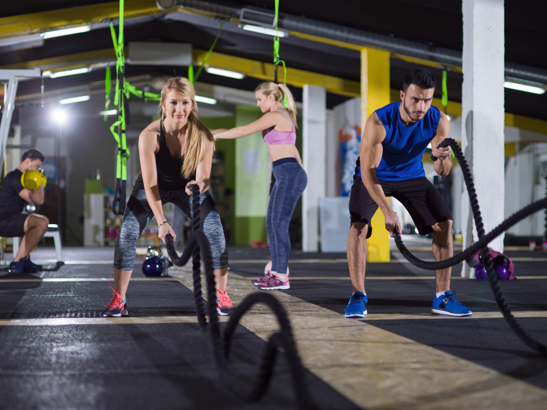 Battle Rope Training ist das perfekte Fitnessprogramm