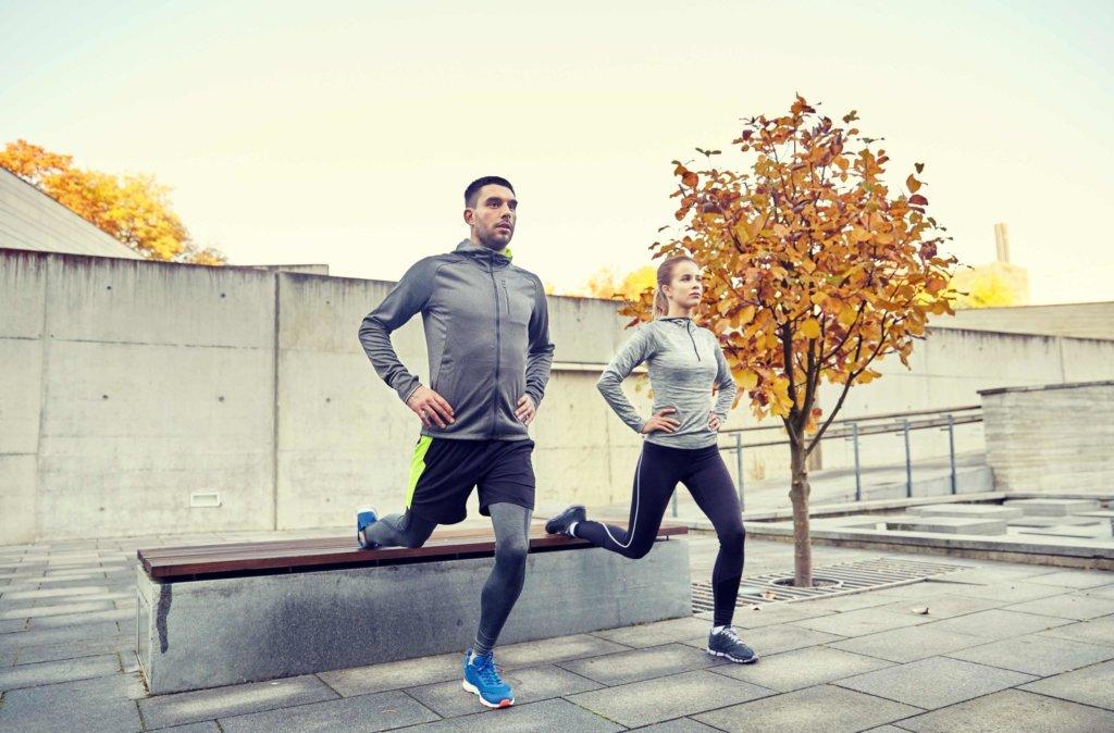 Mit bulgarischen Kniebeugen trainierst Du Kraft und Gleichgewicht