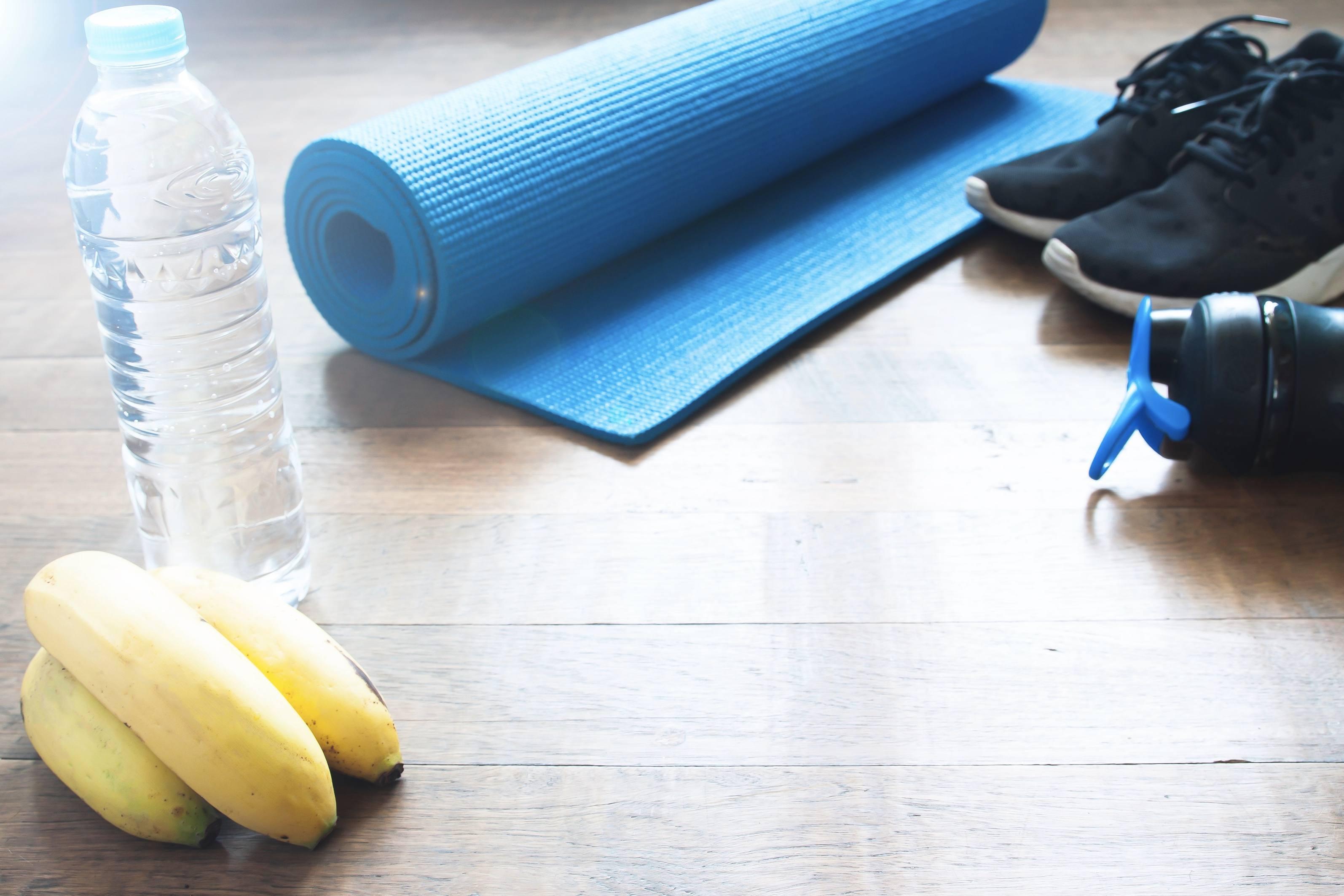 Bananen und ihr sportliches Gesundgeheimnis