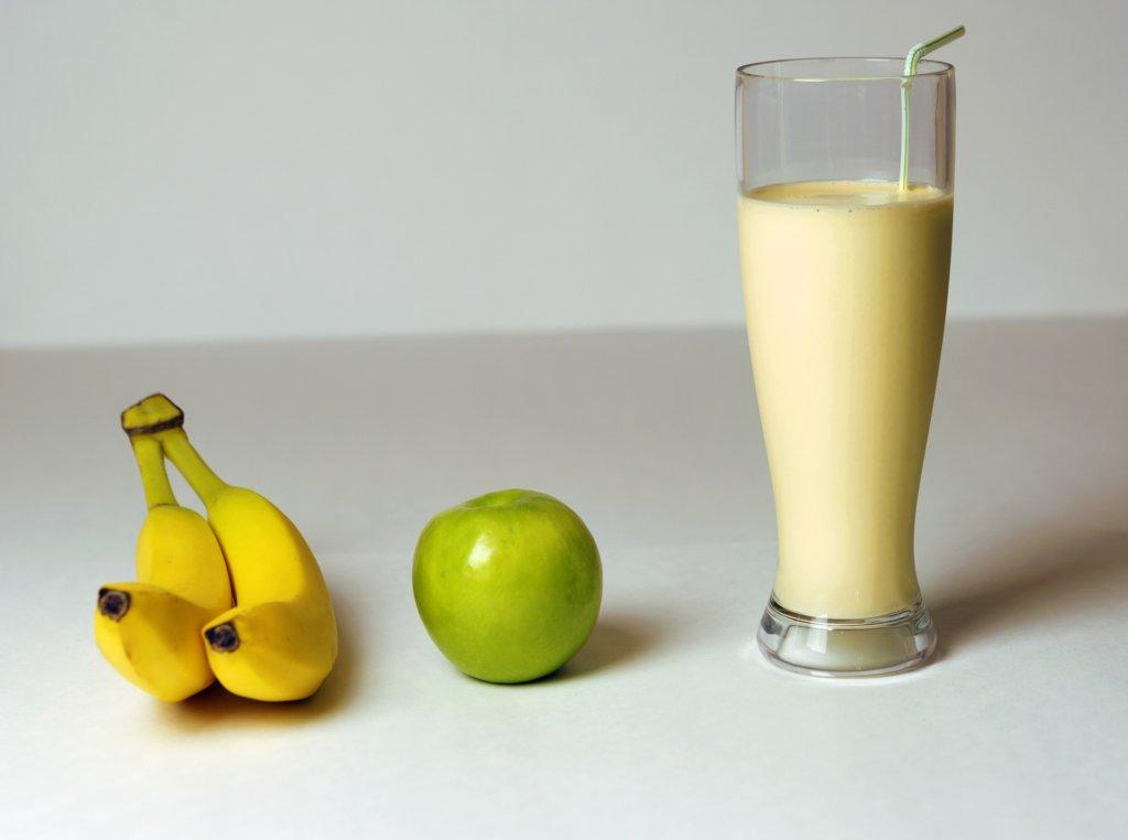 Gefrorene Bananen sind toll für Smoothies geeignet