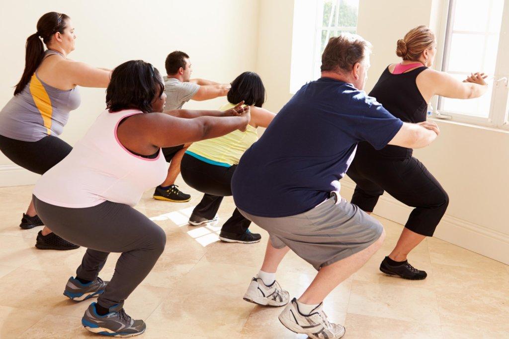 Mit Low-Impact-Training können Übergewichtige schonend viele Kalorien verbrennen