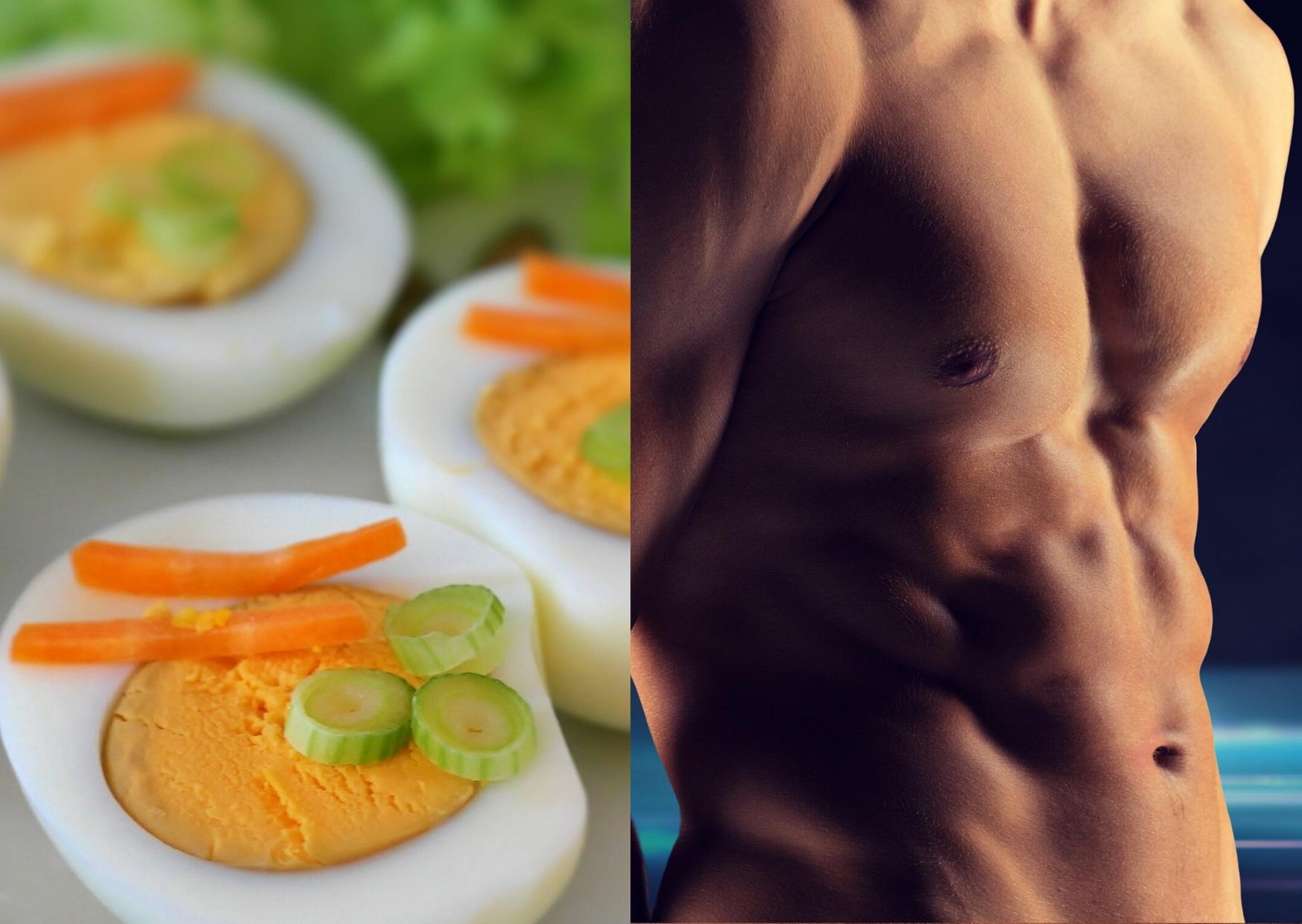 Für mehr Muskeln besser das ganze Ei essen