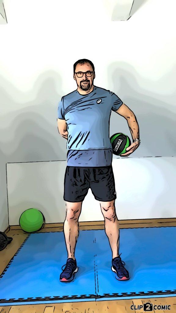 Medizinball-Übungen für einen starken Core