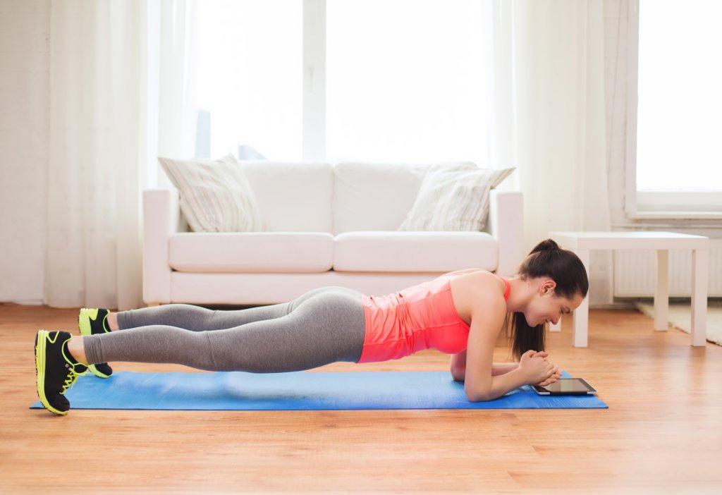 Poistionsveränderungen bei Planks