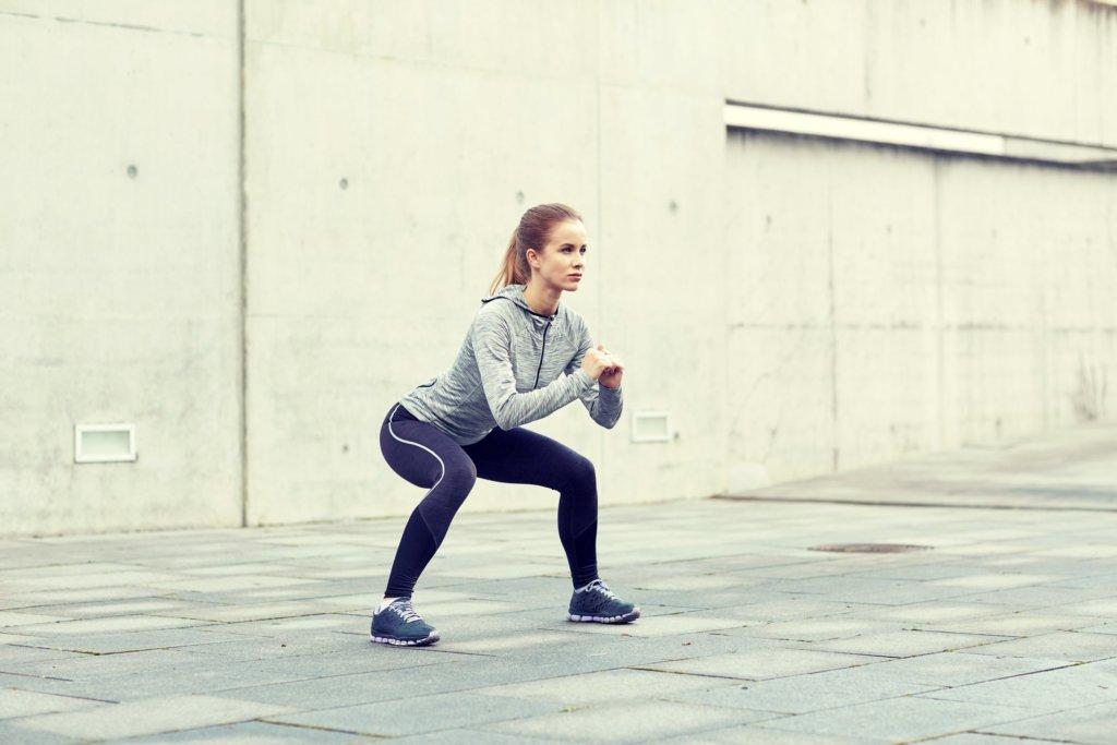 Übungen mit dem eigenen Körpergewicht