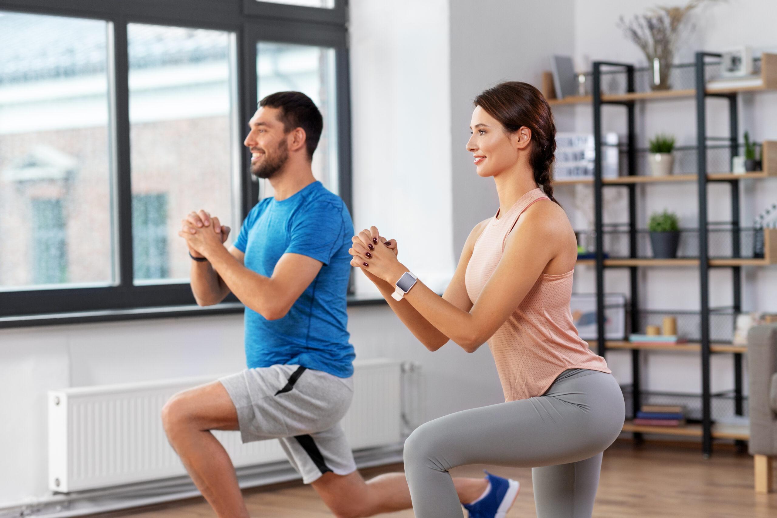 Beinkrafttraining zu Hause mit diesen 8 Übungen