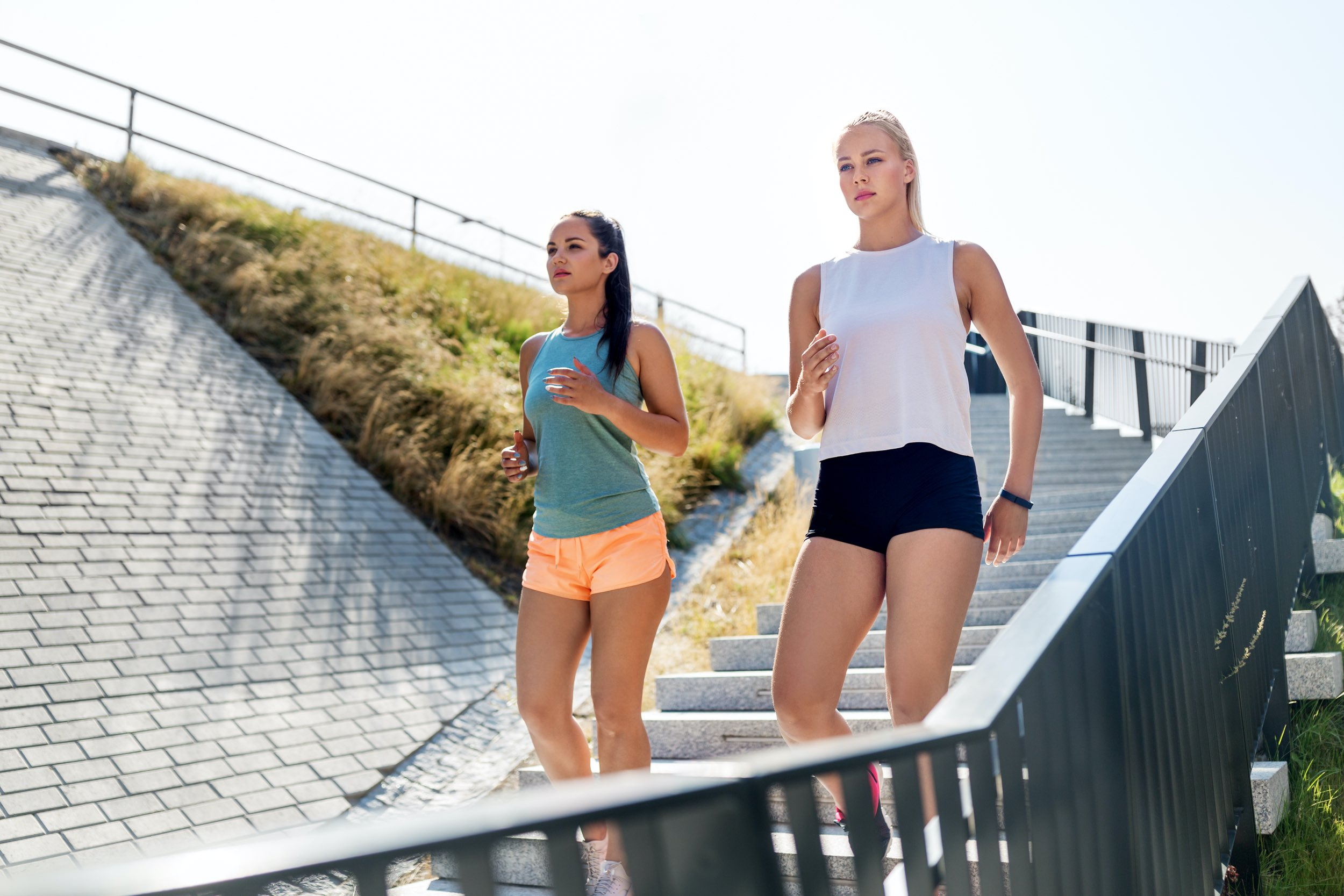 Schnelles Walking hat tollen Anti-Aging-Effekt
