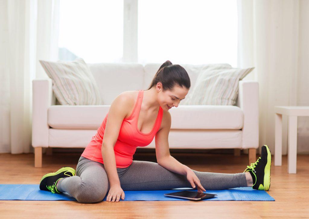 Online-Fitness für Fitness-Anfänger