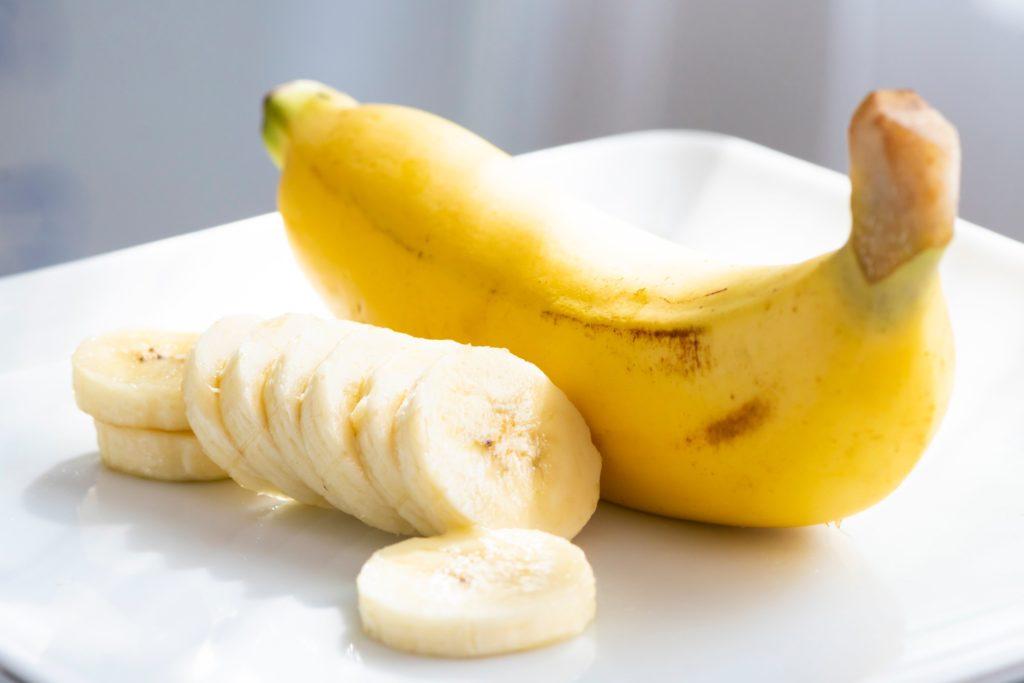 Bananen liefern schnell Glukose